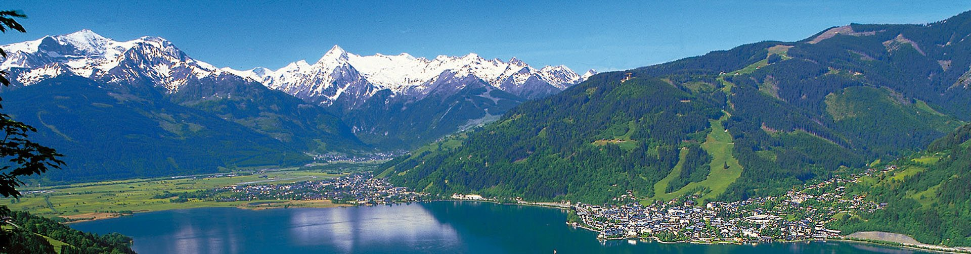 Oostenrijk fantastisch uitzicht op de bergtoppen