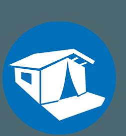 Luxury tent Gran Gusto